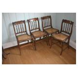 Early Side Chairs, pegged,1860s IMO