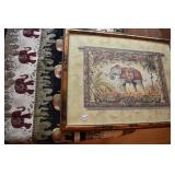 Tapestry & Art, print is 23x30,Tapestry, no tag is