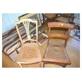 2 Vintage chairs, needing TLC,1 is early version