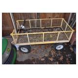 """Yard Cart,tires up, 26 x 46"""""""