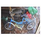 Ladies Adventurer 3 wheel bike. tires up