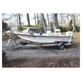 Boat, Carolina Skiff, Evinrude-3 years old.