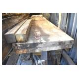 Old lumber, 2-12ft x 23.5  Boards