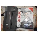 Xerox Laminator, pack of pouches