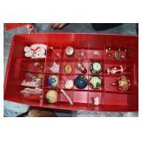 Layered Box, Vintage nice Ornaments