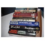 Books, William Buckley Jr. 12 in all