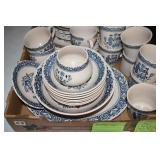 Dish Set, 6 Place + 40 pieces,see image