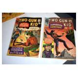 Comics, Two Gun Kid, #80 & #82 12 cents,66