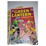 Green Lantern # 39, 1965,loose staple edge