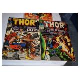 Thor, #s 120,136,137,Thor