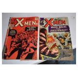 X - Men, #s 13, 17,24,25,26,29,30, 1965