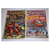 Fantastic Four,Marvel, #s 42,43,45,46,48,57