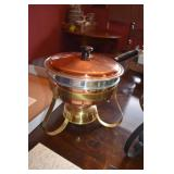 Fondue Set & Other, Chafing dish also, 2 very nice