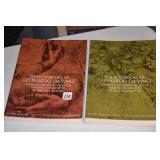 Two volume Set, Da Vinci,Villard Homes *