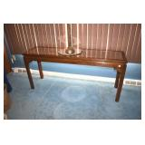 Hall Table, Very Nice, w tall candle stand