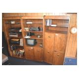 3 Bookcase Sections, Thomasville, no Contents