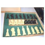 Vintage 1959 Chess Set,