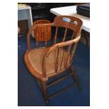 Antique Courthouse chair