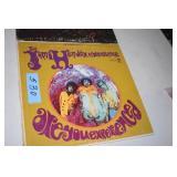 Record Albums, Jimi Hendrix