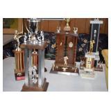 Large Assortment of Vintage Trophies