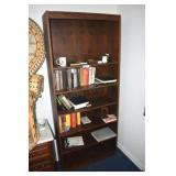 Bookcase,36 x 12 x 84, with some books