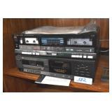 Fisher Double Cassette Deck, BSR Disk Changer