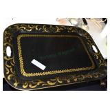 Toleware Large Tray, 19 x 26, Nice