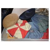 Mens Hats,beanies, English flats,some new