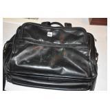 Large Leather? Computer Bag/Valise