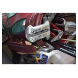 Golf Clubs with Bag and Accessories,Swing setter