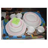 Dishes, Mikasa, Just Pretty, Pink Dawn