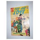 Comics, Teen Age Love, Hot Rods