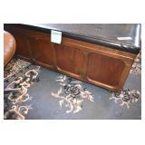 Lane Cedar Chest, key, padded seat,