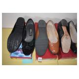 Ladies Shoes, Flats, 4 pair
