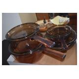 Corning Ware Smoke Dishes