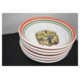 Pasta Set, Very Nice,Server,6 bowls