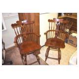 Bar Chairs,Pair, Virginia House, Very nice