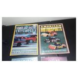 Books,Cars,Racing History, Group of calendars