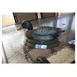 Cast Iron Door Stop, Duck, unmarked.