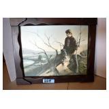 Art Print, 19 x 23,wood frame,Otto