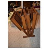 TV Trays, fine wood,rack,Pine