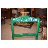 Painted dining side chair
