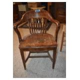 Courthouse Chair,wear and finish losses,
