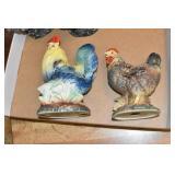 Chickens, Ceramic, Japan & USA