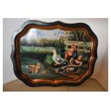 Toleware Style Tray,modern & Painting