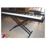 Yamaha P80 Piano, no speaker, & music Books