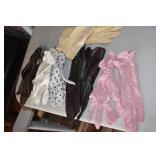 Vintage Ladies Aprons & Gloves
