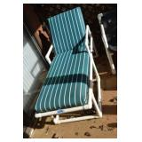 Lounge Chair, nice, PVC Style frame