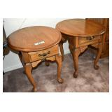 """End Tables, Pair, 23""""T x 25 x 21"""", Real Nice"""