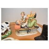 Figures, Ceramic, 1 Book Stand